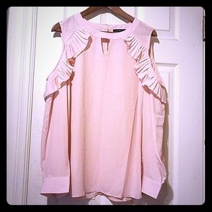 Brand new never worn pink blouse